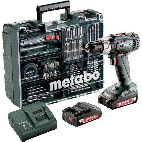 Trapano avvitatore a percussione a batteria Metabo SB 18 L 18 V 2 Ah Li-Ion incl. seconda batteria