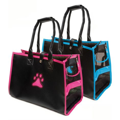 Trapeze transport bag with leg for dogs and cats