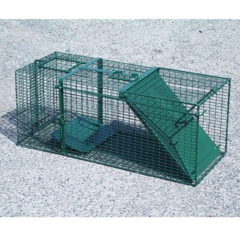 Trappe de capture avec porte basculante Désignation : Trappe MORIN 100236