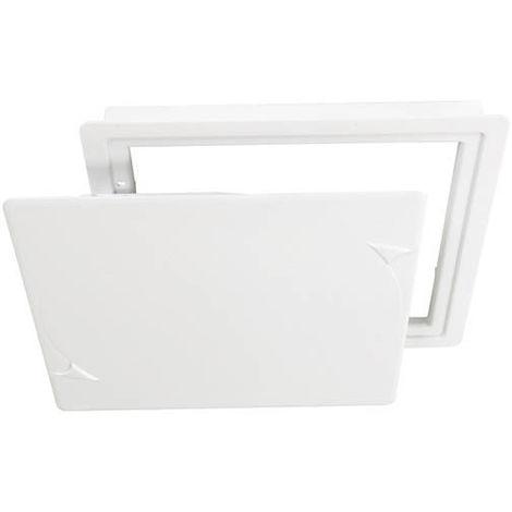 Trappe de visite 24x24 cm blanc