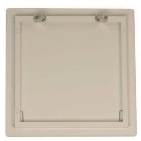 """main image of """"Trappe de visite Eco Clic Metal ISOTECH Blanc - 400x400 mm - TR7MCLIC4040"""""""