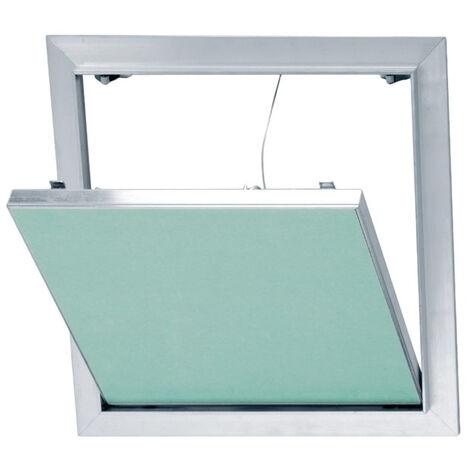 Trappe de visite en aluminium et plaque de plâtre hydrofuge Placo® - 200*200 mm