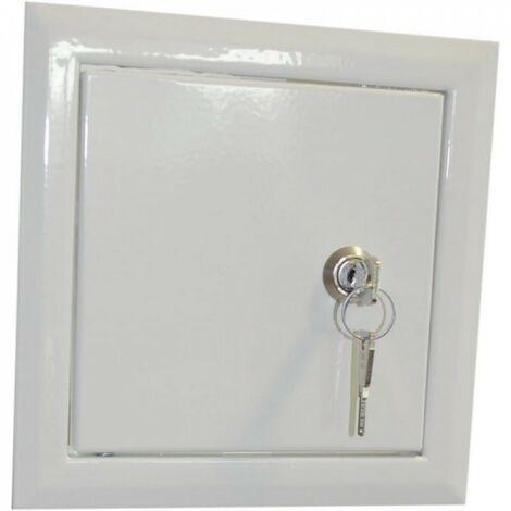 Trappe de visite Porte d'inspection de cheminée sur la clé 15x2