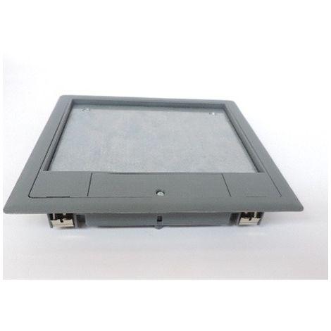 Trappe passage câbles en plancher tech et dalle béton 33x199x199mm OptiLine 45 SCHNEIDER ELECTRIC ISM50520