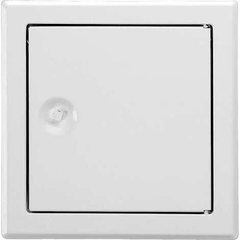 Trappe revision Softline blanc a cle 6 pans Dim. insert 300x400mm