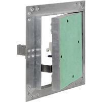 Trappe Visite Cadres Aluminium 30x30cm 125mm Pacoplatre Porte Clapet Révision Alu Maintenance