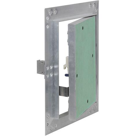 Trappe visite Cadres Aluminium 20x25cm 12,5mm Plaque en plâtre Panneau d'accès Alu Maintenance