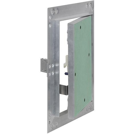 Trappe visite Cadres Aluminium 25x40cm 12,5mm Plaque en plâtre Panneau d'accès Alu Maintenance