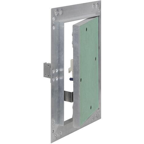 Trappe visite Cadres Aluminium 30x60cm 12,5mm Plaque en plâtre Panneau d'accès Alu Maintenance