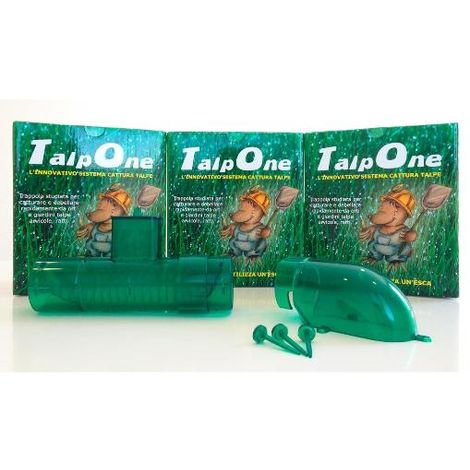 Trappola cattura talpe - TalpOne - 1 Trappola + 1 Accessorio a gomito