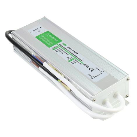 Trasformador 12VDC 8,33A 100W de exterior IP67