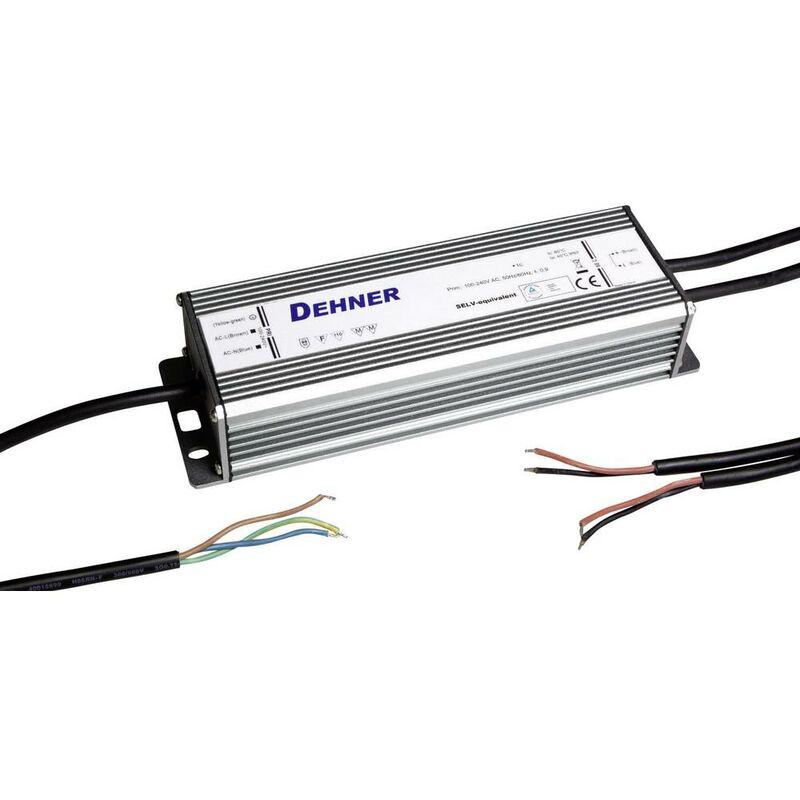 Dehner Elektronik LED 12V100W-MM-IP67 Trasformatore per LED Tensione costante 100 W 8.3 A 12 V/DC adatto per mobili