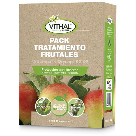 Tratamiento frutales Vithal Garden