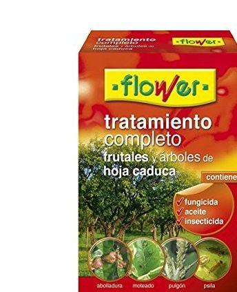 Tratamiento frutales y arboles de hoja caduca Flower