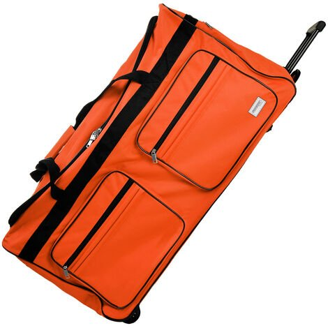 Travel Duffle Bag XL Trolley 160L Wheeled Sport Holdall Weekend Suitcase Luggage
