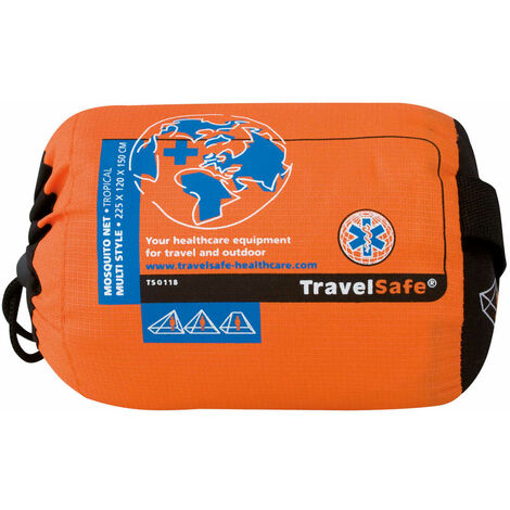 Travelsafe Moustiquaire Tropical Multi style 1 personne