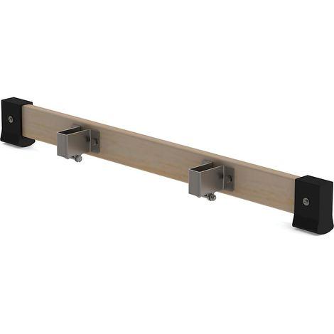 Traverse à installer ultérieurement - longueur 930 mm, pour échelle en bois, pour montant 70 mm - sans sabots nivello®