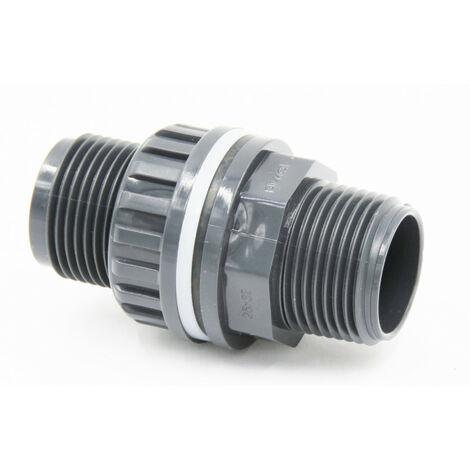 Traversée de Paroi PVC 2 de Générique - Raccord PVC pression - Catégorie Raccord PVC pression