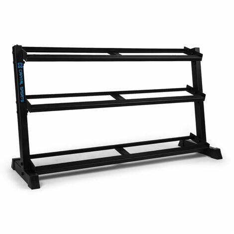 Traytor H Storage Rack Dumbbell Rack 3 Levels Steel Black