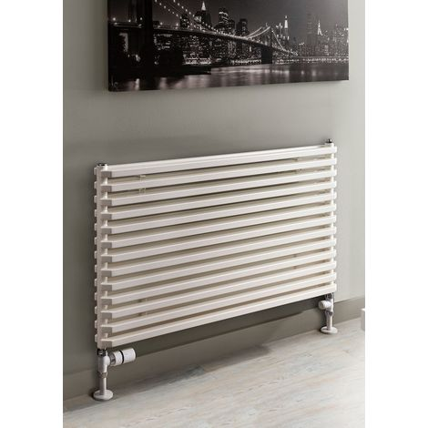 TRC Sax Steel RAL Double Panel Horizontal Designer Radiator 520mm x 900mm