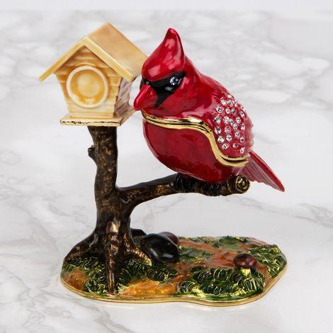 Treasured Trinkets - Bird with Birdhouse