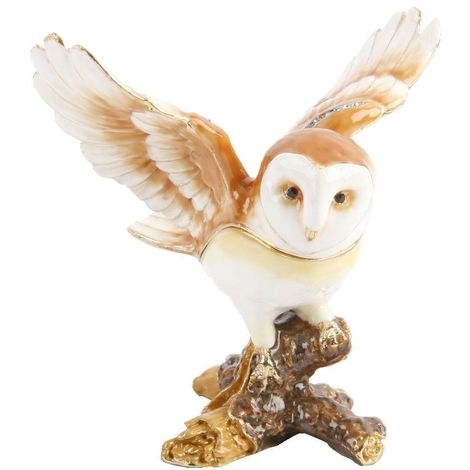Treasured Trinkets - Owl with Wings out