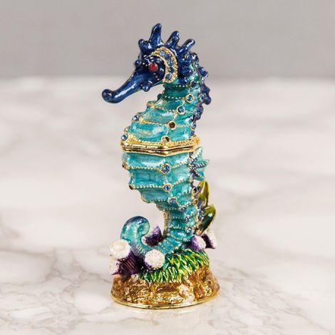 Treasured Trinkets - Sea Horse Bluee (72/36)