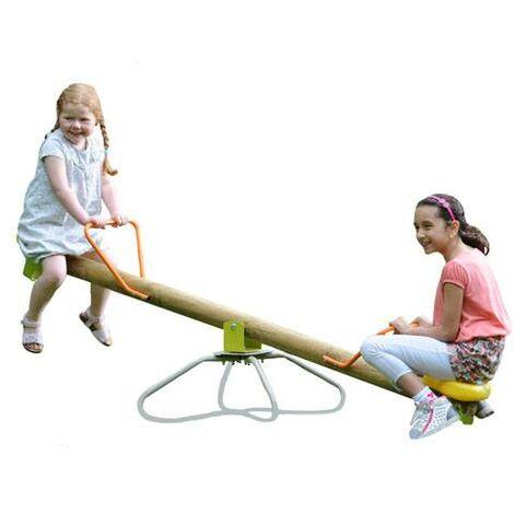 Trébuchet rotatif en bois KIKOU FUNNY - 2,07 m de longueur
