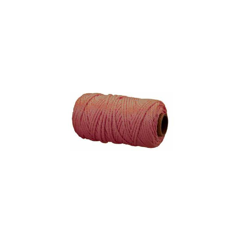 Treccia per veneziana in polipropilene 3 mm. marrone 20 mt.