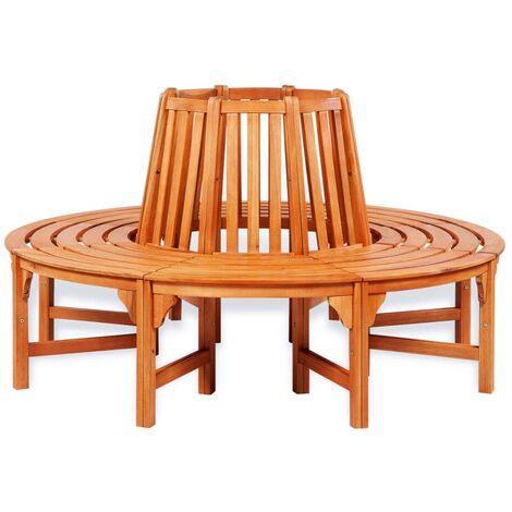 Tree Bench Ø 160 cm Wood
