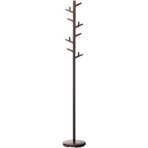 Tree Coat Stand in Brown by Yamazaki