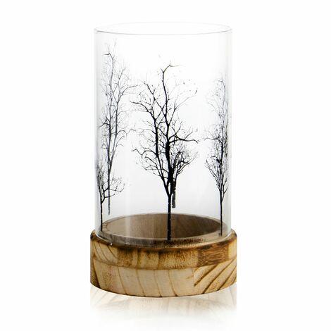 Tree Design Tealight Candle Holder | M&W