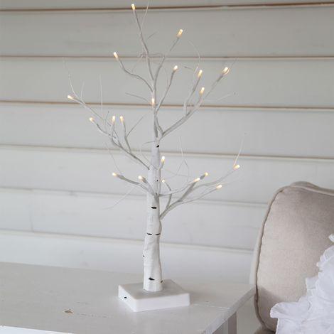 Tree luminux führte Birke auf Batterien