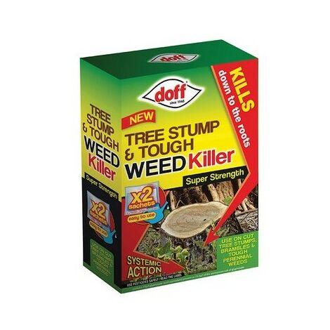 Tree Stump & Tough Weedkiller 2 Sachet (DOFFX002)