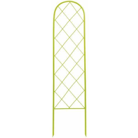 """Treillis à planter """" Classis Metal Trellis"""" - 0,30 x 1,20 m - Vert anis"""