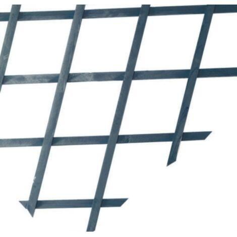 Treillis extensible en bois - Vert 1 x 2 m TRELLIWOOD