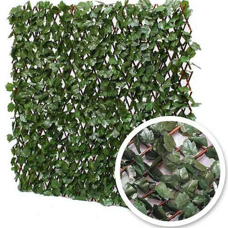 Treillis extensible feuilles de lierre