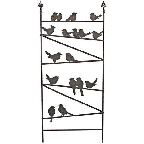 Treillis famille d'oiseaux