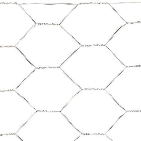 Treillis triple torsion 50/150 cm.Rouleau 50 mètres usage domestique