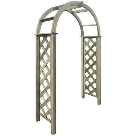 Trellis Arch FSC Green Impregnated Pinewood