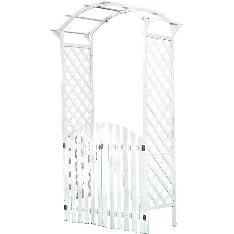 trellis pergola climbing help roses arch wood arched doorway garden gate climbing grid door