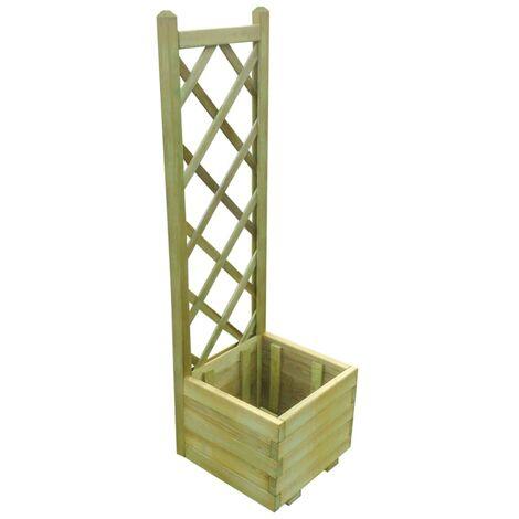 Trellis Planter 40x40x135 cm Impregnated Wood