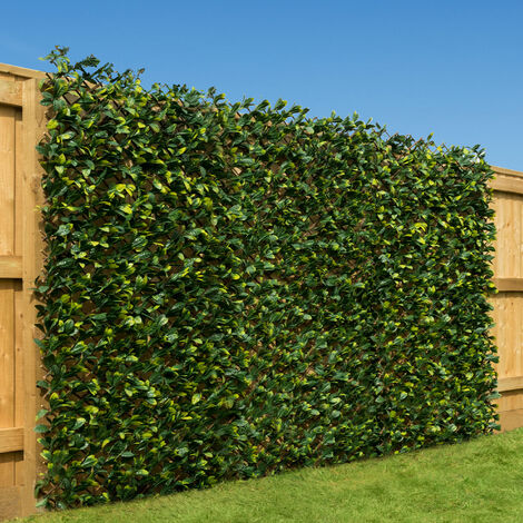 Trellis With 2 Tone Leaves (1m x 2m)