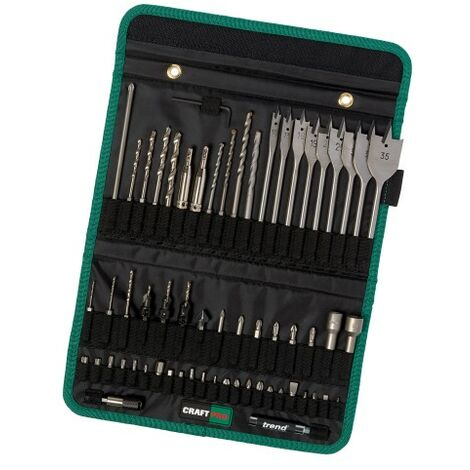 Trend Craft Pro Quick Release 60pcs Set in Tool Holder