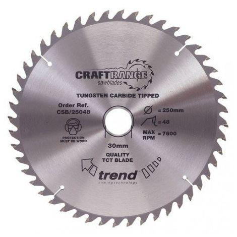 TREND Craft saw blade 165mm x 48 teeth x 20mm