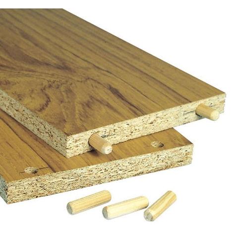 Trend Hardwood Dowel Pins 10mm x 35mm (Pack 50)