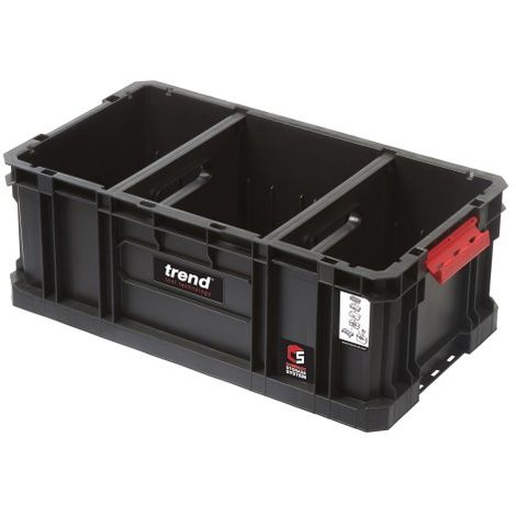 Trend Modular Storage Compact Tote 200mm c/w divider