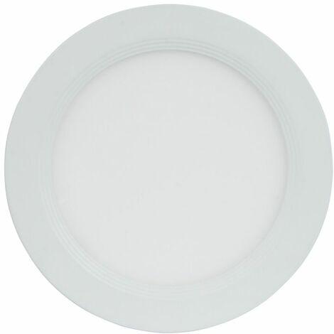 TrendLine LED Einbauleuchte Billings weiß, starr, dimmbar stufenlos