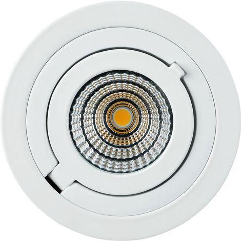 TrendLine LED Einbauleuchte San Diego weiß, schwenkbar, dimmbar stufenlos