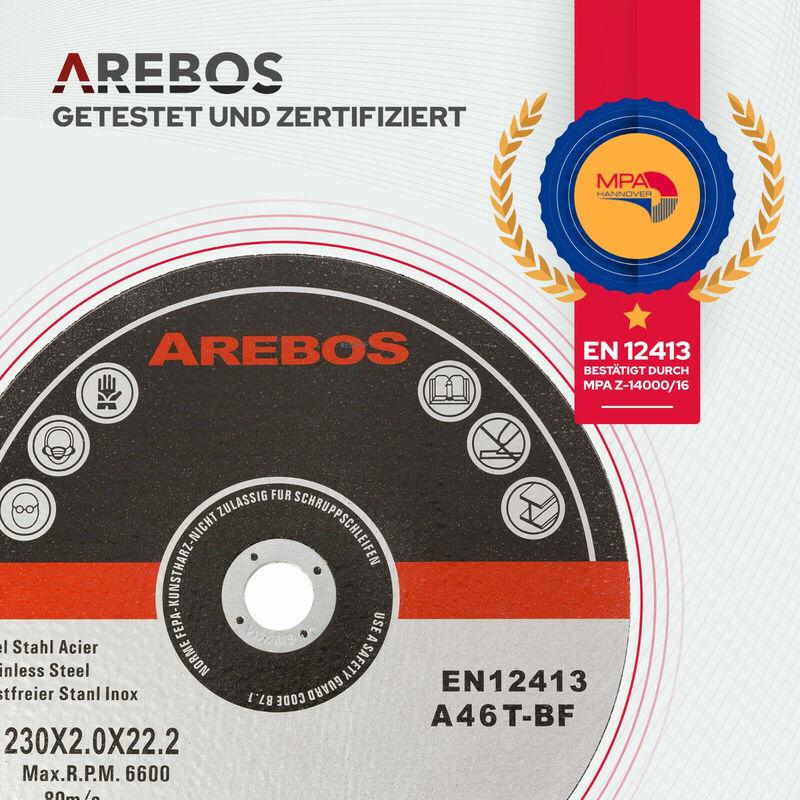 Gut bekannt Trennscheiben (230 mm, 25 Stück, EN 12413) Flexscheiben Inox ZO53
